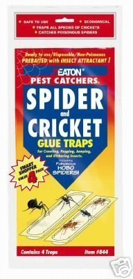 JT EATON- SPIDER AND CRICKET TRAP