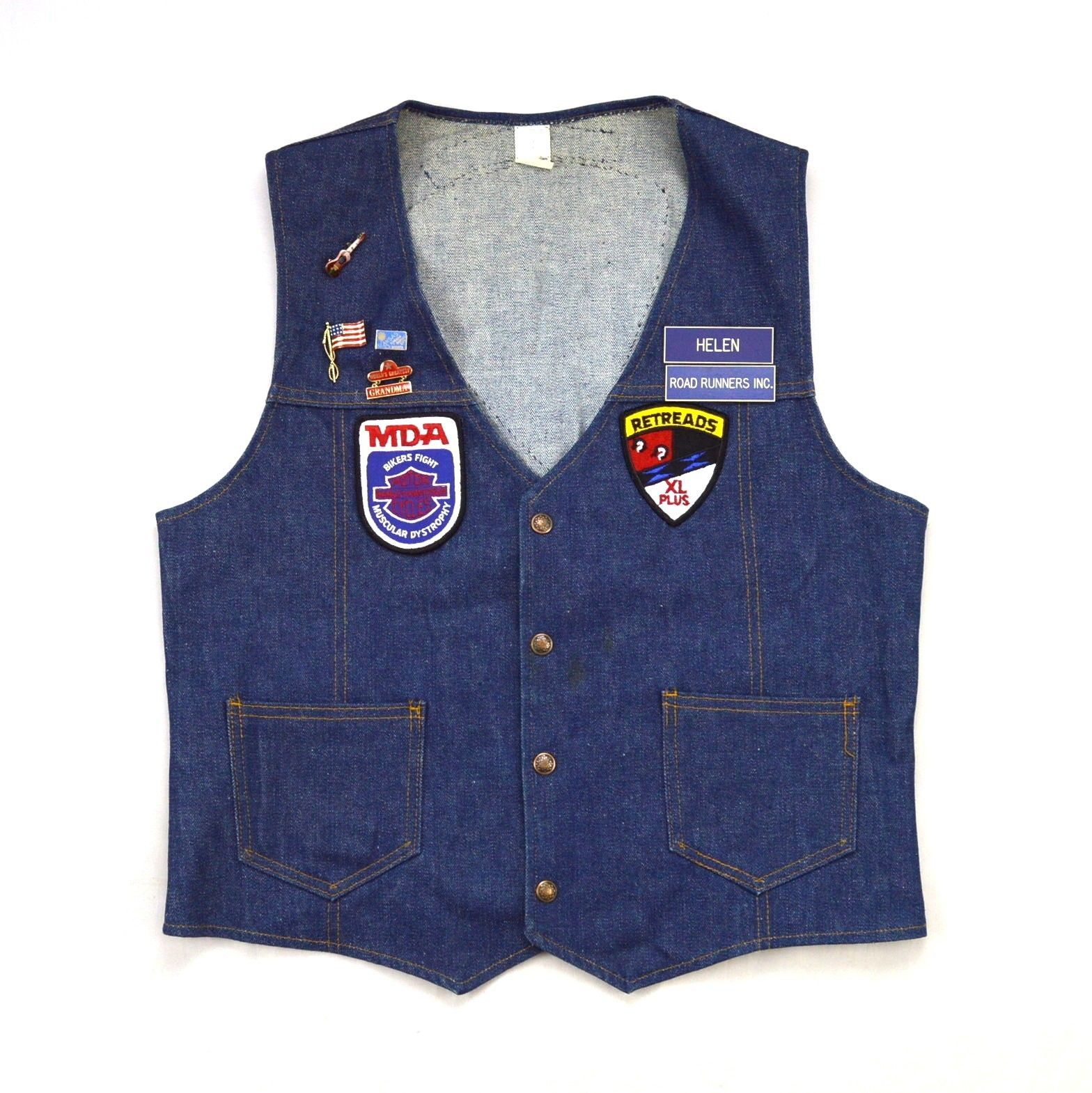 34992bbd Vtg RETREADS Harley Davidson Patch Blue and 44 similar items. S l1600