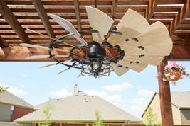 """New Quorum 60"""" Windmill Indoor Outdoor Ceiling Fan Oil Rubbed Bronze Indoor - $989.00"""