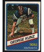 Wonder Bread football card #7 George Kunz 1976 - $1.00