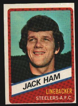 Wonder Bread football card #18 Jack Ham 1976