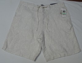 """New"" Club Room Men's Shorts Beige Paisley Drawstring Size 34 NWT - $21.99"