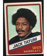 Wonder Bread football card #20 Jack Tatum 1976 - $1.00