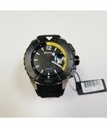 BRAND NEW Brera Orologi BRSPAQ4809 Sport Analog Dial Black Rubber Men's ... - $197.99
