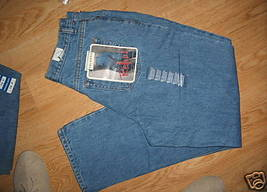 Ladies ARIZONA Jean light Stone Wash Blue Size 15 Average Relaxed Hip Thigh NEW - $16.99