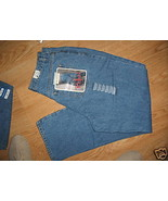 Ladies ARIZONA Jean light Stone Wash Blue Size 15 Average Relaxed Hip Th... - $16.99