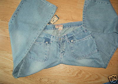 Ladies STEVE and BARRYS Size 12 Denim Blue Jeans Stone Washed Short S NEW