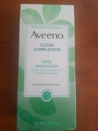 AVEENO Active Naturals Clear Complexion Daily Moisturizer 4 oz. Exp 12/2020