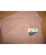 Ladies NAPA VALLEY Angel Pink Kahki Dress Slacks Pants 6 Petite Elastic ... - $14.99