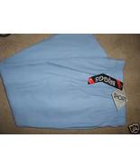 Ladies BRIGGS NEW YORK Light Baby Blue Dress Pants Slacks Elastic Size 1... - $12.99
