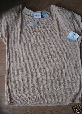 Ladies TR Bentley Golden Yellow Shell Knit Shirt Top Stretch S Small Soft NEW
