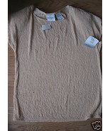 Ladies TR Bentley Golden Yellow Shell Knit Shirt Top Stretch S Small Sof... - $9.99