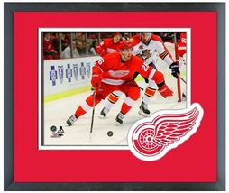 Tomas Jurco 2013-2014 Detroit Red Wings - 11 x 14 Team Logo Matted/Framed Photo - $42.95