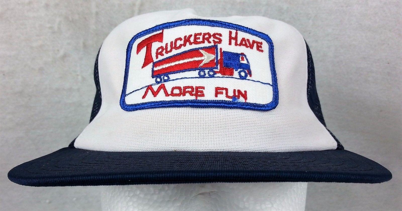Truckers Have More Fun Trucker Hat Ball Cap and similar items. S l1600 e45e02c28ce9