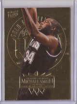 1995-96 Fleer Ultra Gold Medallion Michael Smith #159 Basketball Card - $3.75