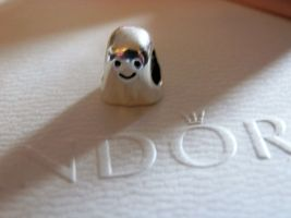 Authentic Pandora Sterling Silver Boo the Ghost  Charm - $30.00
