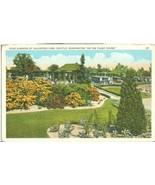Rose Gardens of Volunteer Park, Seattle, Washington, 1920s unused Postcard  - $5.99
