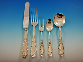 Luxembourg by Gorham Sterling Silver Flatware Set for 12 Service 62 pcs Dinner - $5,500.00