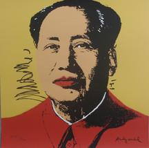 Andy Warhol lithograph MAO Zedong limited editi... - $940.00