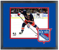 Marc Staal  2013-2014 New York Rangers - 11 x 14 Team Logo Matted/Framed Photo - $43.95