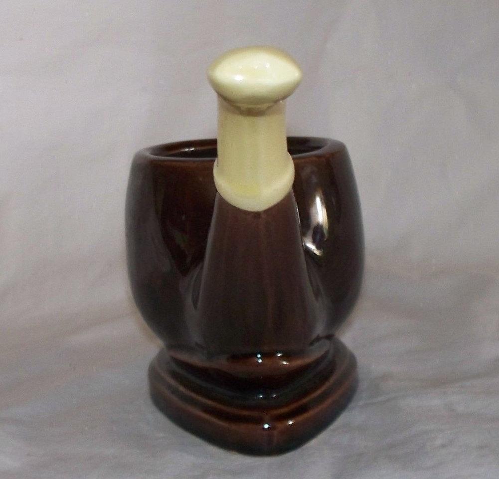 Decorative Clay Pipe : Ceramic decorative pipe ashtray vintage other