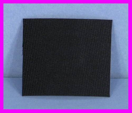 ** 1' x 1mm Crafts Flat Belting / Strong Rubber Hinge Black Habasit Craft NEW **