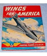 American Patriot Book Wings For America Fighting Planes of the U.S.A. - $19.95