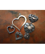 Heart Chrams lot of Six - $1.50
