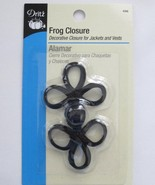 Frog Closure Black 3 inch - $3.49