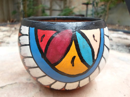 Vintage Hand Painted and Signed Navajo Pottery - $15.00