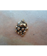Vintage Goldtone Grape Cluster Pendant - $15.00