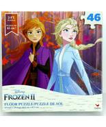 Disney Frozen II 46 Piece Educational Giant 2ft Floor Jigsaw Puzzle Elsa... - $19.79