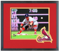 Kolten Wong 2014 St. Louis Cardinals - 11 x 14 Team Logo Matted/Framed Photo - $42.95