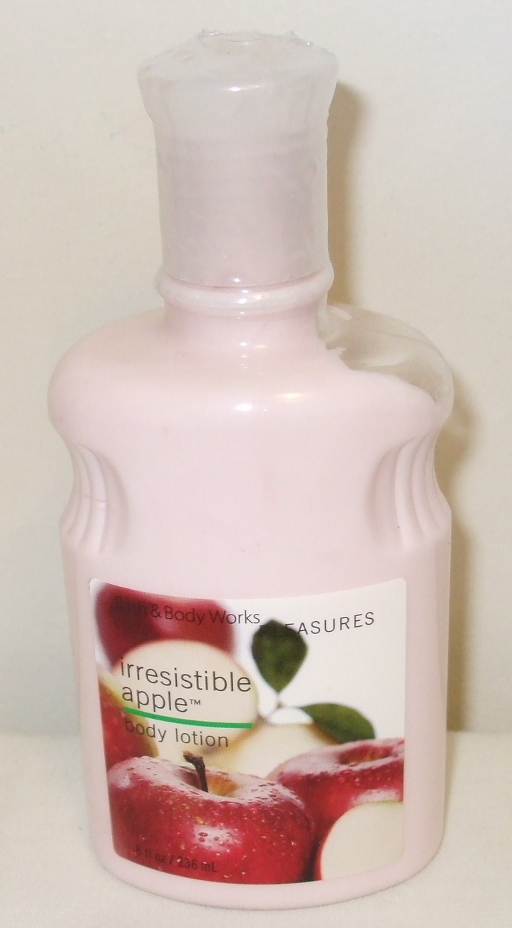 Irrsistible apple body lotion