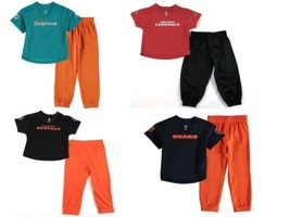 NFL Infant Toddler Boy's Lil' Field 2-Piece Pant Set with Jersey Shirt & Pants
