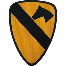 GENUINE U.S. ARMY PATCH: FIRST CAVALRY - COLOR - PAIR - $18.79