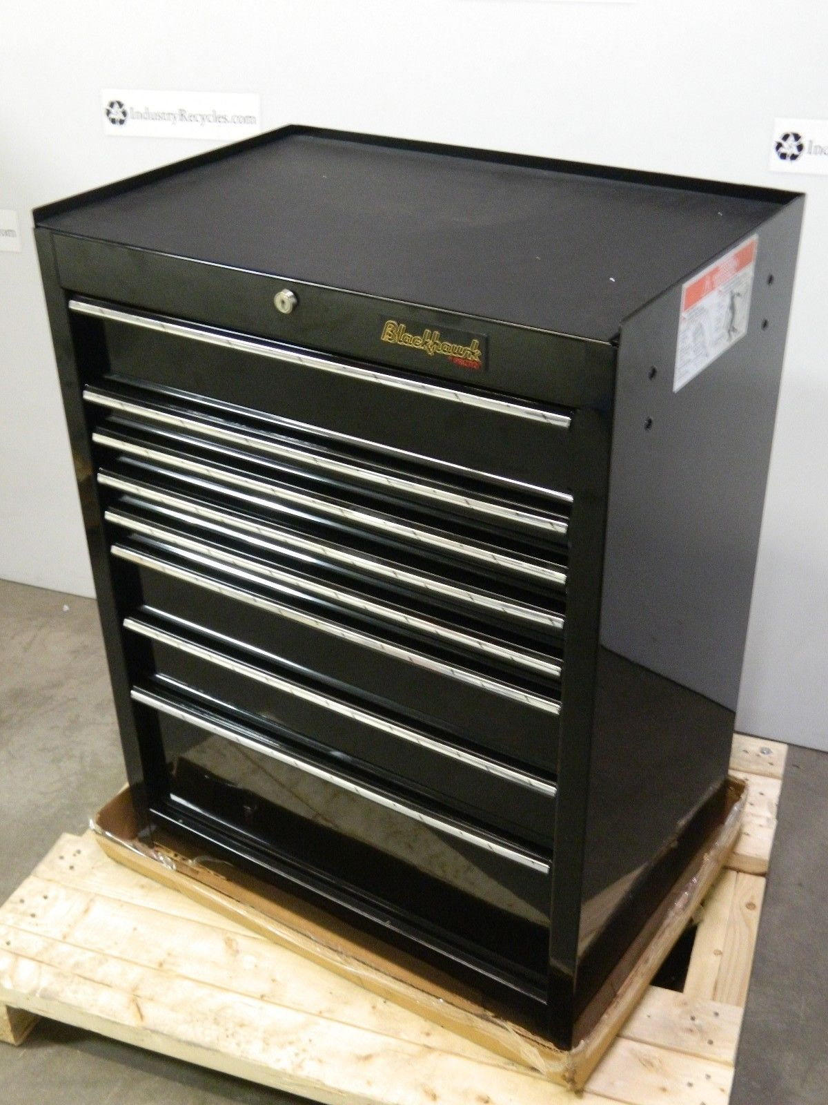Proto 92708r roller cabinet tool box 8 drawer 41 x 27 x for Roller sideboard