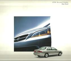 1998 Honda ACCORD SEDAN Spanish language brochure catalog 98 US Espanol - $6.00