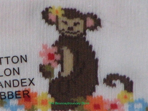 NWT Gymboree Monkey Island Socks 2 Pair Size 3 4 Years