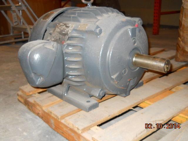 Us motors 7 5 hp corrosion duty tefc motor 230 460v 3 for 5 hp tefc motor