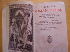 Roman Missal - Rare Antique Edition image 3