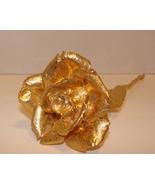 """24k Gold Dipped Rose - Yellow 24k Gold Rose - 8"""" - $19.98"""