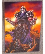 Teenage Mutant Ninja Turtles Shredder Glossy Print 11 x 17 Hard Plastic ... - $24.99