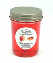 Mango Papaya 90 Hour Gel Candle Classic Jar - $8.96