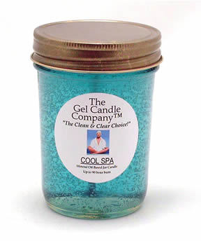Primary image for Cool Spa 90 Hour Gel Candle Classic Jar