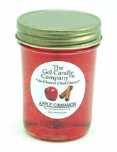 Apple Cinnamon 90 Hour Gel Candle Classic Jar - $8.96