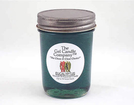 Eucalyptus 90 Hour Gel Candle Classic Jar - $8.96