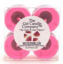 Watermelon Scented Gel Candle Tea Lights - 4 pk. - €3,86 EUR