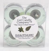 Eucalyptus Mint Scented Gel Candle Tea Lights - 4 pk. - €3,86 EUR