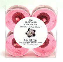 Gardenia Scented Gel Candle Tea Lights - 4 pk. - $4.46